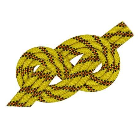 Doppia treccia skipper fantasy h.t., gialla, 10 mm - al metro
