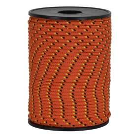 Treccia hobby fantasy arancione 2 mm - 50 mt