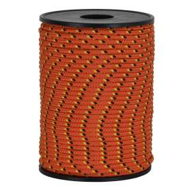 Treccia hobby fantasy arancione 3 mm - 90 mt