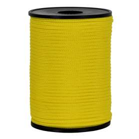 Treccia hobby gialla 2 mm - 100 mt