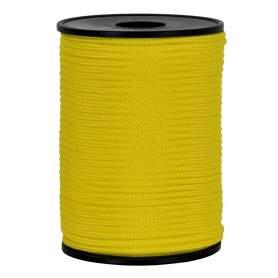 Treccia hobby gialla 3 mm - 90 mt