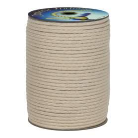Corda intrecciata 100% cotone 6 mm - 100 mt