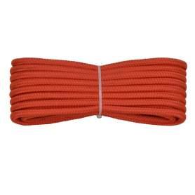 Treccia polipropilene arancio 6 mm - 10 mt