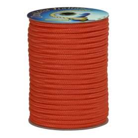 Treccia polipropilene arancio 6 mm - 100 mt