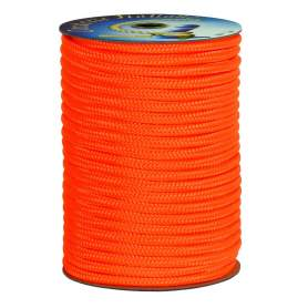 Treccia alta tenacità arancio 5 mm - 350 mt