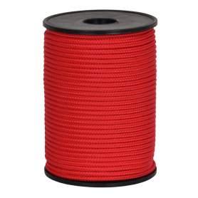 Treccia hobby rossa 3 mm - 90 mt