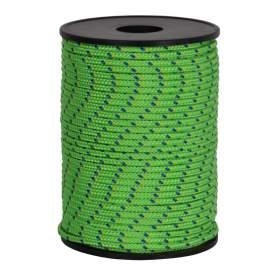Treccia hobby fantasy verde flu 2,5 mm - 120 mt