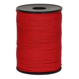 Cordino edilizia rosso 2 mm - 100 mt