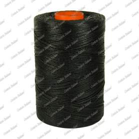 Spago cerato nero 1,0 mm - 250 mt