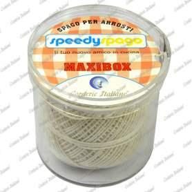 Spago candido per arrosti titolo 2/4 - 50 gr. + dispenser Maxi box