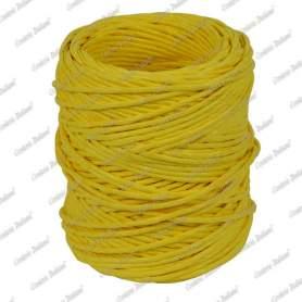 Spago carta colorato giallo 1,4 mm - 40 mt