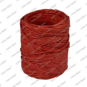 Spago carta colorato rosso 1,4 mm - 40 mt