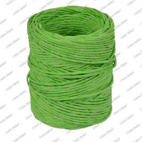 Spago carta colorato verde 1,4 mm - 40 mt