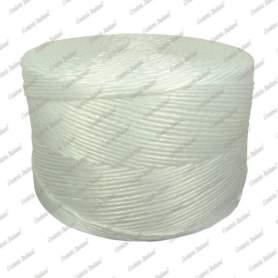 Spago rafia bianco, Titolo 370 - 2 kg