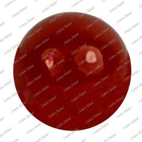 Perle 8 mm, colore rosso, foro 2 mm - 250 pz