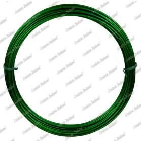 Filo alluminio tondo verde, 2 mm - 12 mt