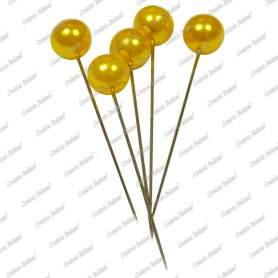 Spilli giallo, 6 mm x 65 mm, 100 pz