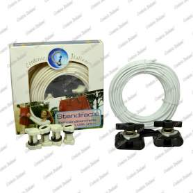Kit Stendibiancheria bianco 4 mm - 20 mt