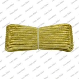 Treccia oro 4 mm - 10 mt
