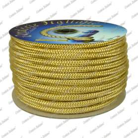 Treccia oro 6 mm - 100 mt