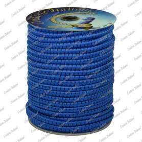 Treccia elastica azzurra 4 mm - 50 mt