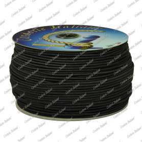 Cordoncino elastico nero 3 mm - 300 mt