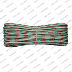 Treccia fantasia tricolore 4 mm - 10 mt