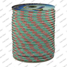 Treccia fantasia tricolore 8 mm - 30 mt