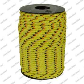 Treccia hobby fantasy gialla 2,5 mm - 120 mt