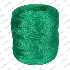 Tortiglia polietilene verde, titolo 4 X 3 - 100 mt