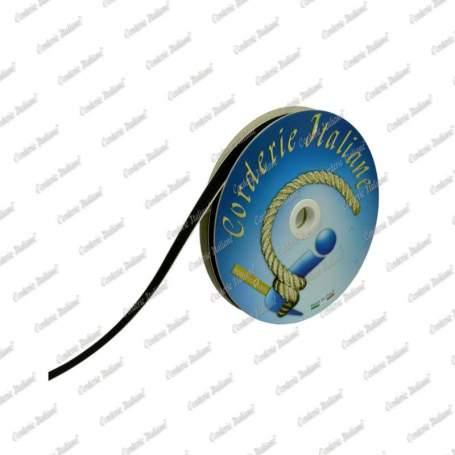 Velcro adesivo a strappo, solo asola, colore nero, 20 mm - 50 mt