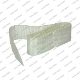 Nastro tessuto in polipropilene, bianco, 40 mm - 1,50 mt