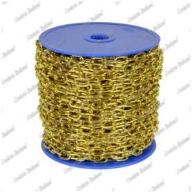 Catena orologio Ø 1,3 mm, interno maglia 8 mm x 2,5 mm, 25 mt, ottonata