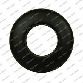 Occhielli autoperforanti per teloni, diametro interno 13,5 mm - 8 pz, nero