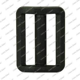 Passanti in plastica 40 mm - 50 pz, nero