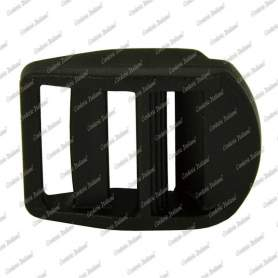 Passanti in plastica 20 mm - 100 pz, nero