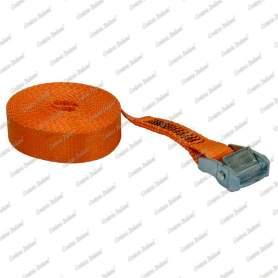 Cinghia di ancoraggio per piccoli carichi con fibbia autobloccante, 35 mm - 5 mt, 1 pz