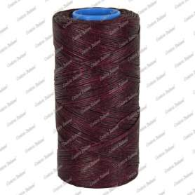 Spago cerato bordeaux 1,0 mm - 250 mt