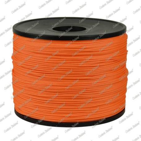 Cordino StarLux  arancio 0,8 mm - 100 mt
