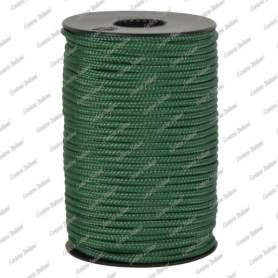 Treccia hobby verde scuro 3 mm - 40 mt