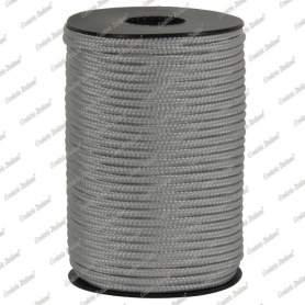 Treccia hobby grigio perla 2 mm - 50 mt