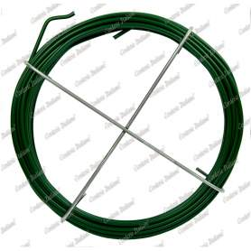 Filo ferro plastificato verde