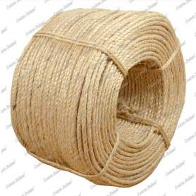 Corda sisal 6 mm - 100 mt