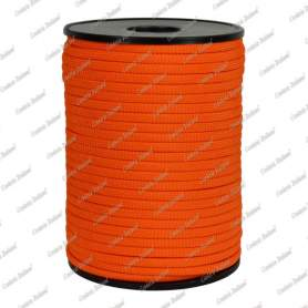Treccia piatta élite, arancio, 4 mm - 40 mt