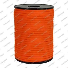 Treccia piatta élite, arancio, 4 mm - 90 mt