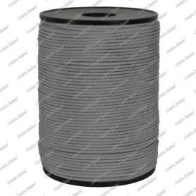 Cordino minimal grigio perla 1,5 mm - 50 mt